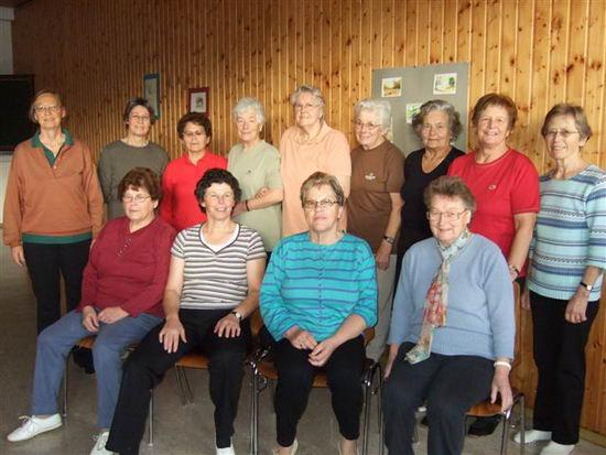 Frauengruppe Schongymnastik 2010