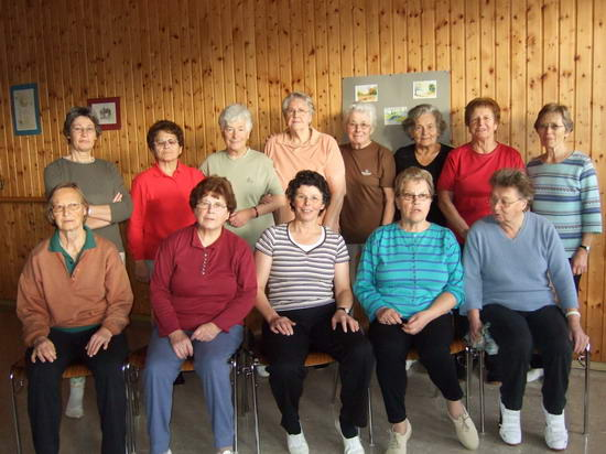 Frauengruppe Schongymnastik