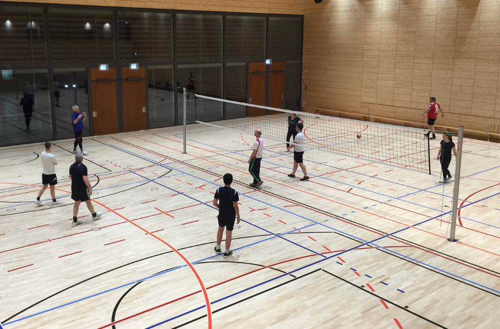 Volleyballtraining mit Burkhard Sude